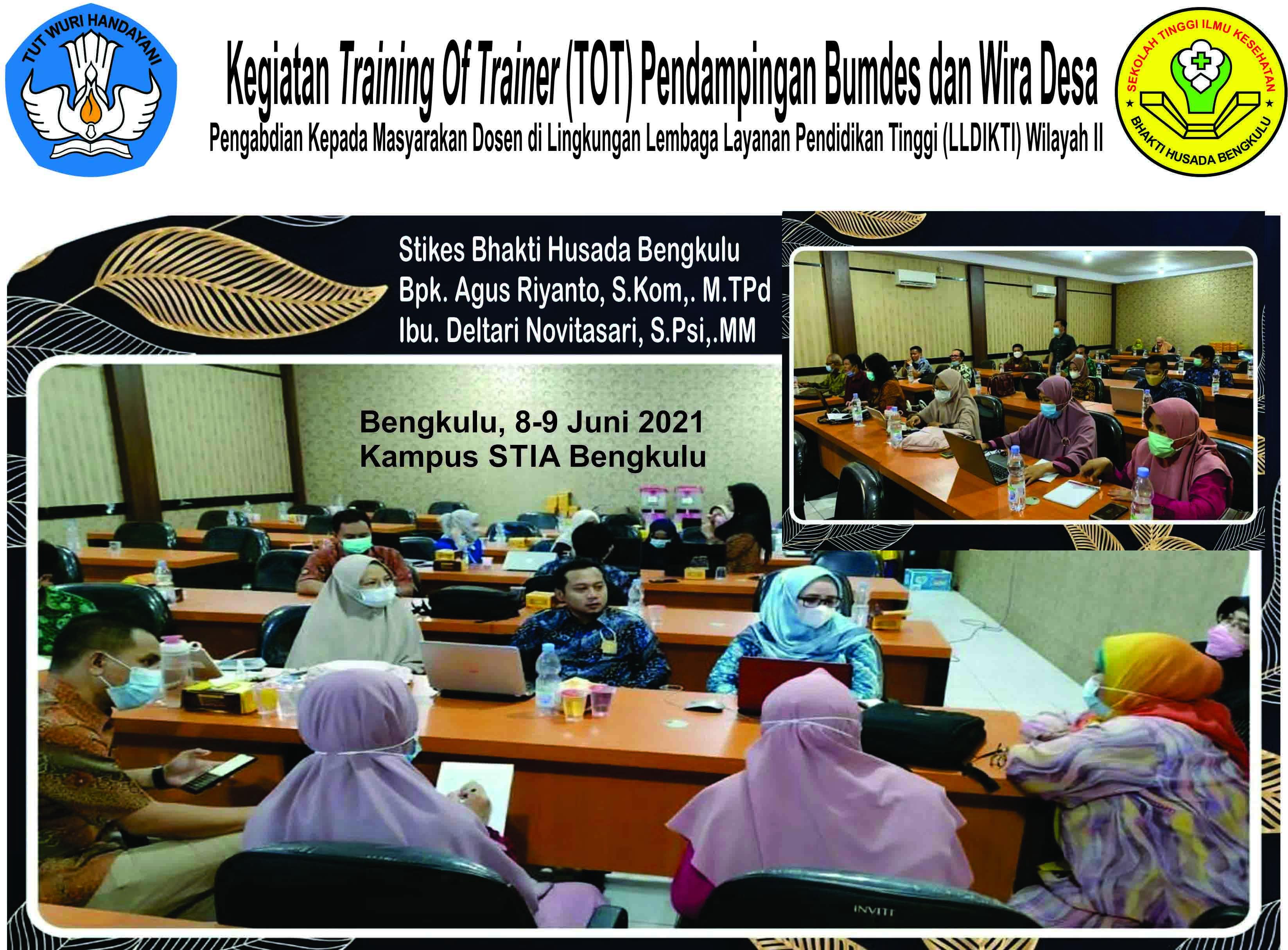 Kegiatan Training Of Trainer (TOT) Pendampingan Bumdes dan Wira Desa